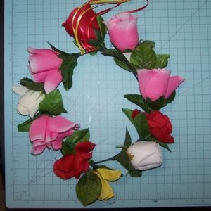 Handmade Accessories - Adult size Rose flower crown